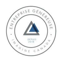 Entreprise généreuse Depuis 2018 Imagine Canada
