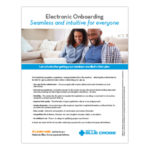 Electronic Onboarding Sell Sheet