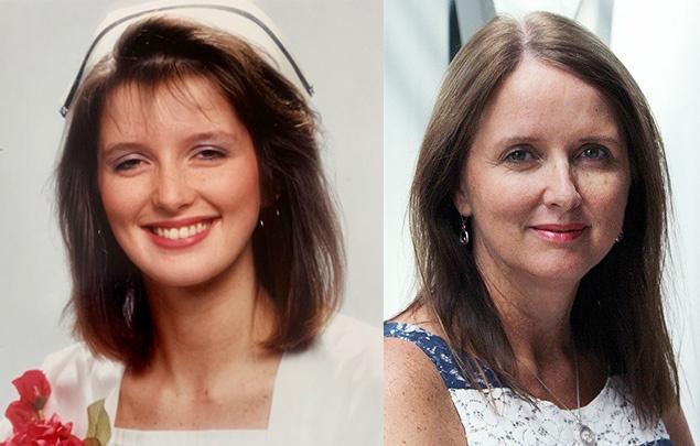 Paula-Grossman-Nurse-who-works-for-Medavie-Blue-Cross-in-RN-graduate-photo-alongside-current-photo.jpg?mtime=20200511131810#asset:26832