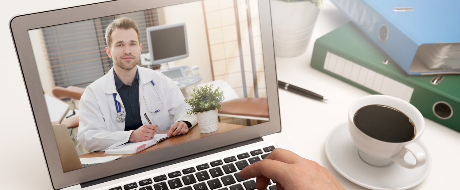 Image of online doctor for virtual health care