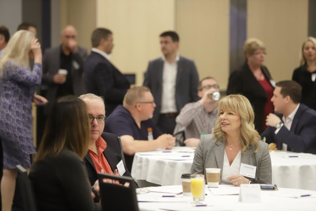 19 Networking Crowd